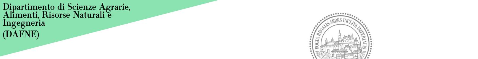 Banner Dipartimento di Scienze Agrarie